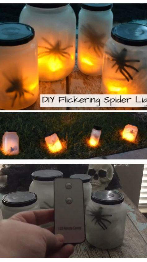 How to Make Flickering Spider Lights