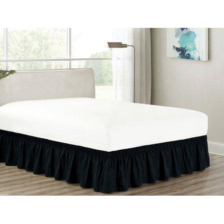 Home Bedskirt Ruffle Bedding Ruffle Bed Skirts