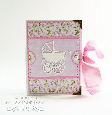 Mini Baby Scrapbook Baby Girl Photo Album Baby Girl Brag Book