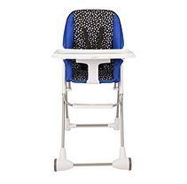 Evenflo Symmetry Flat Fold High Chair Hayden Dot Toddler Furniture Chair Seat Pads