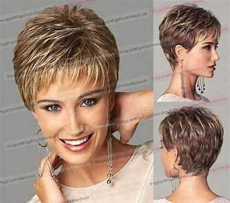 Image Result For Short Hairstyles For Women Over 60 Back Views Easy Short Hair Styles Short Hair Wigs Thin Fine Hair