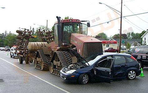 تفسير حلم رؤية الحادث في المنام Tractors Case Ih Car