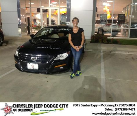 Happyanniversary To Laura Lee On Your Car Purchase From Brent Villarreal At Dodge City Of Mckinney Dodge City Dodge City