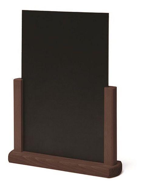 Tischaufsteller Holz Aufsteller In A5 A4 Mit Beschreibbarer