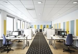 Akusto One Sq Is A Frameless Wall Panel For Acoustical Remediation Install It Alone Or Pair It With Ceiling Panels To Cu Wall Paneling Ceiling Panels Paneling