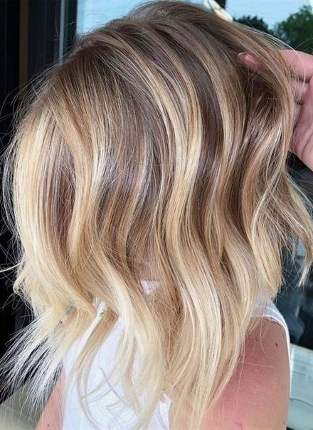 50 Modern Textures Of Blonde Balayage Haircuts For 2018 Balayage Is One Of The Hair Colors Which Are Much Famous I Balayage Hair Hair Styles Ombre Hair Blonde