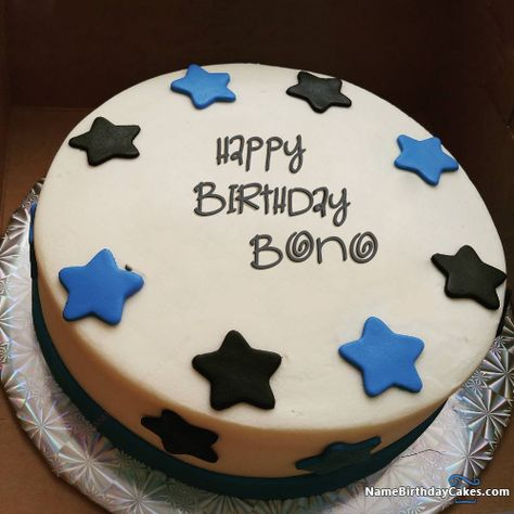 The Name Bono Is Generated On Happy Birthday Images Download Or