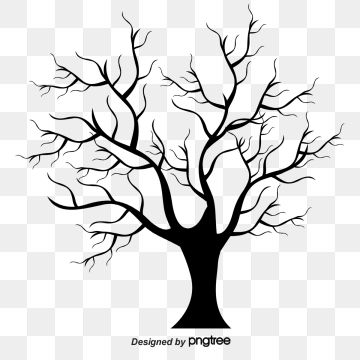 Withered Winter Trees Transparent Tree Winter Trees Transparent Tree Pictures Clipart Dead Clipart Trees Clipart Tree Illustration Winter Trees Blue Tree