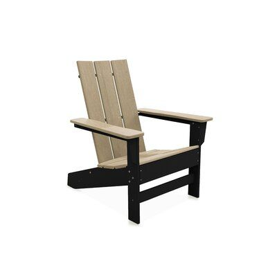 Seashell Adirondack Set With Ottomans Assembly Required Black