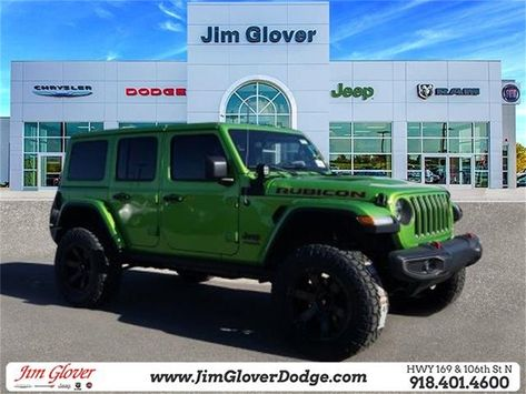 New 2019 Jeep Wrangler Unlimited Rubicon 4WD 4D Sport Utility