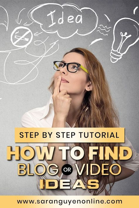 How to find blog or video content ideas? Here's an easy way to find content ideas for your blog,  social media posts or YouTube videos, I'm going to show you a step by  step how to go from a blank page to a list of ideas that people actually  want to hear about. Check it out. #content #videocontent #blogcontent #contentcreation #tips #socialmedia #contentideas
