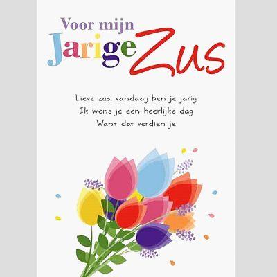 Beste Gefeliciteerd Met Je Verjaardag Zus Model Gedicht Verjaardag Zus FR-07