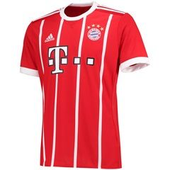 uk availability 1e7cd 11730 Bayern Munich Home Shirt 2017-18 | Soccer Jerseys ...