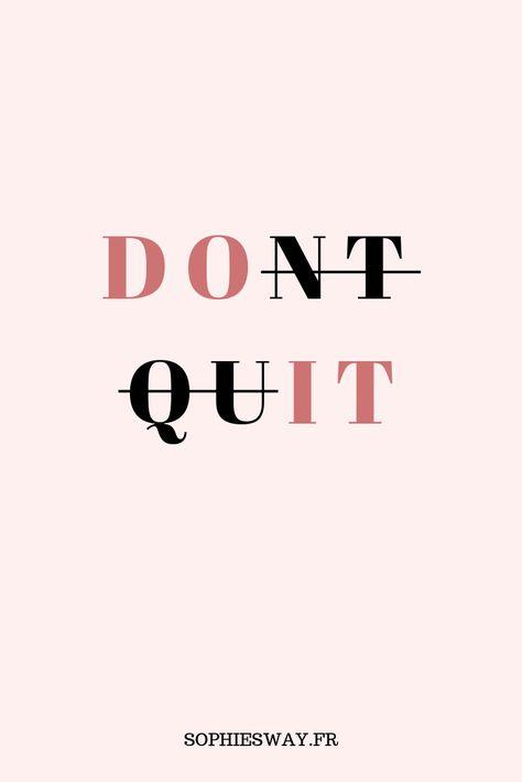 Une vraie girlboss ? Retrouvez toutes les autres citations motivantes et inspirantes sur le blog ! #inspiration #quote