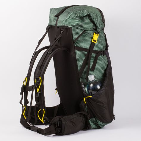 ULA catalyst – This is the backpack I use for all of my backpacking adventures. I'm a petite woman (5'2 115lbs.) and this is the only pack I've found that comes in multiple to support my small frame. It's also a very stylish bag so bonus points for that. Can't recommend it enough!