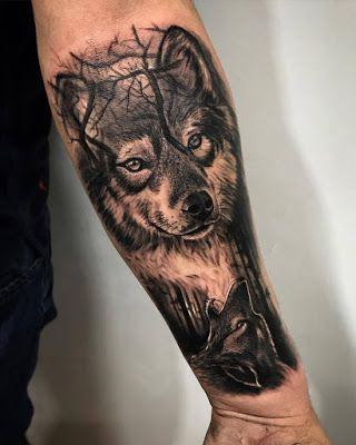 Tatuajes De Lobos Para El Antebrazo