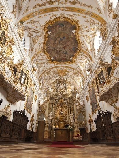 size: Photographic Print: The Old Chapel , Regensburg Poster by Michael DeFreitas : Baroque Architecture, Beautiful Architecture, Minimalist Architecture, Angel Aesthetic, Princess Aesthetic, Kirchen, World Heritage Sites, The Places Youll Go, Aesthetic Wallpapers