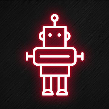 Robot Icon In Neon Style Robot Icons Style Icons Neon Icons Png Transparent Clipart Image And Psd File For Free Download In 2021 Robot Icon Neon Iphone Design