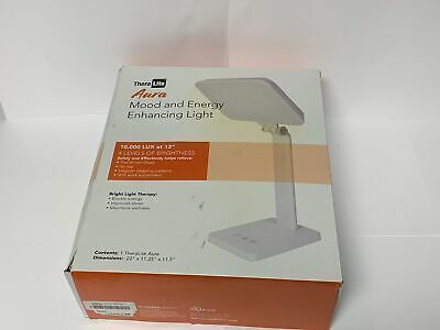 Advertisement Theralite Aura Bright Light Therapy Lamp 10 000 Lux Led Lamp Sun Lamp Mood In 2020 Therapy Lamp Light Therapy Light Therapy Lamps