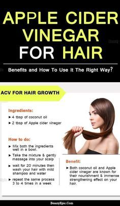 How to Use Apple Cider Vinegar for Hair?