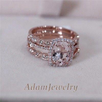 Simple Wedding Rings 6299 Simpleweddingrings Matching Wedding Rings Rose Engagement Ring Wedding Rings Vintage