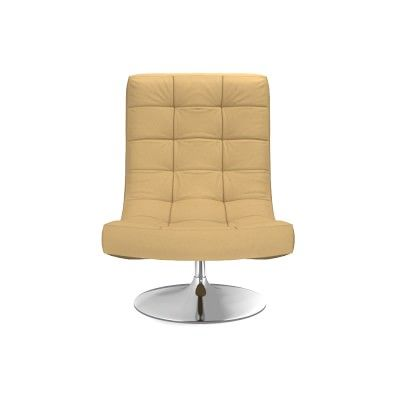 Stupendous James Swivel Chair Polished Nickel Perennials Performance Pabps2019 Chair Design Images Pabps2019Com