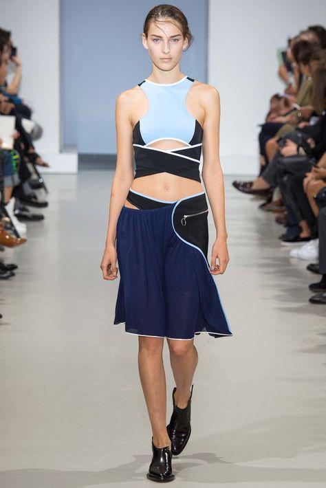 Paco Rabanne Spring 2015 Ready-to-Wear Fashion Show - Julia Bergshoeff (Viva)