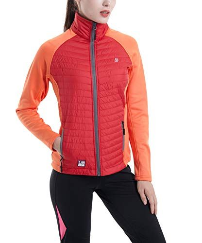 dc6a72521a19 Little Donkey Andy Women's Insulated Jacket, Hiking Hybrid Jacket ...