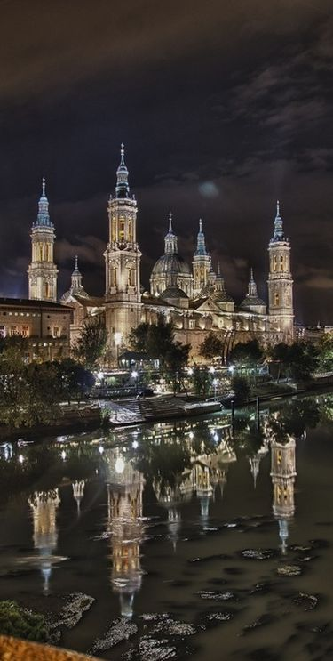 Basílica del Pilar, Zaragoza, Spain , #travel