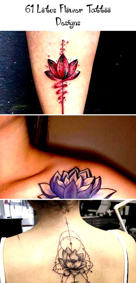 Cute Small Ankle Lotus Flower Tattoo  - Cute, Colored, Black and White, Large and Small Lotus Tattoos. Ankle, Wrist, Back, Forearm Tattoos. #tattoos #tattooideas #lotustattoo #lotusflower #tattoosforwomen #smalltattoos #flowertattoodesigns #TattooIdeasVideos #HisAndHerTattooIdeas #TattooIdeasNature #BookTattooIdeas #TattooIdeasInMemoryOf