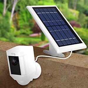 Solar Panel Compatible With Ring Spotlight Cam Battery And Ring Stick Up Cam Battery Hd Power Your Ring Cam Solar Charger Solar Charger Portable Solar Panels