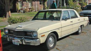 1975 Dodge Dart Custom Sedan Classic Dodge Cars Hard To Find