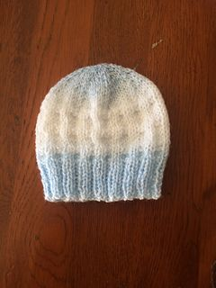 fc63eac59 Charlie - Baby Beanie Hat pattern by marianna mel | Knitting | Baby ...
