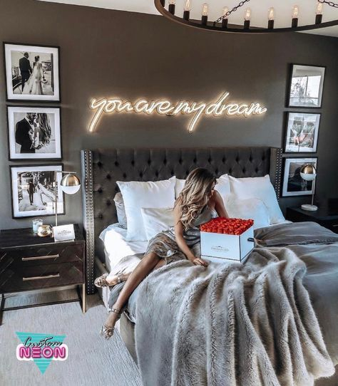 You are my dream Neon Sign Handcrafted - Custom neon sign, Led For Home, Event Sign, lamp Bedroom, p