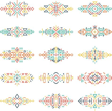 All-over Pattern Vector files Decorative Pattern Tribal Prints/Decorative Pattern/Tribal Prints/Vector files/All-over Pattern/Womenswear/pattern drafting