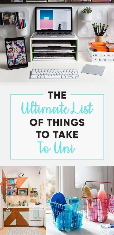 The Ultimate List Of Things To Take To Uni - Society19 UK