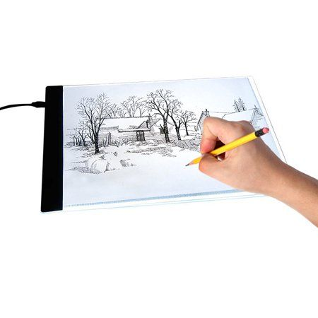 Estink A4 Led Light Tracing Drawing Board Ultra Thin Portable Light Box Tracer Usb Power Artcraft Are Stenc Drawing Pad Drawing For Kids Light Box For Tracing