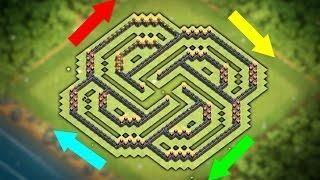 Unbeatable Coc Th9 Best Defense Base 8