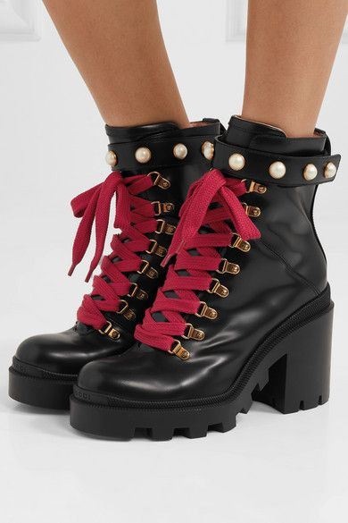 buy \u003e gucci boots with red laces, Up to