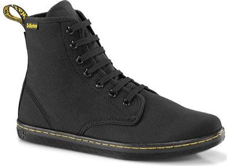 3aa0cd02028d Womens Dr. Martens Shoreditch - Black Canvas - FREE Shipping   Exchanges