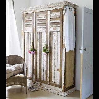 bedroom armoire whitewashed cottage chippy shabby chic french country rustic swedish decor idea pinned by oldattic