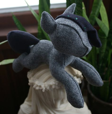Beanie Pony Sewing Pattern with Unicorn Horn and Pegasus Wings (Plush, Plushie, Stuffed Toy, digital PDF)