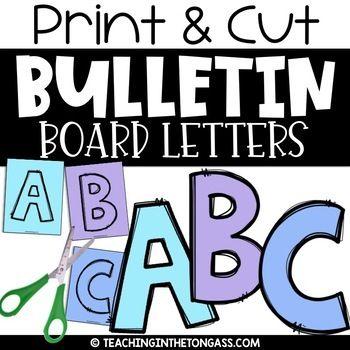 Bulletin Board Letters Printable A Z A Z 0 9 Bulletin Board Letters History Bulletin Boards Black History Bulletin Board