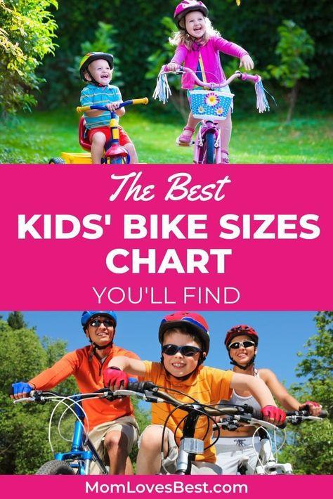 The Ultimate Kids Bike Sizing Guide 2020 Chart Kids Bike Sizes