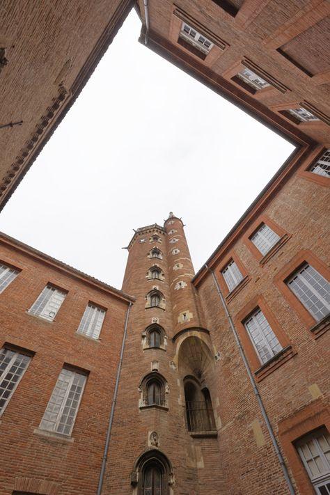 Hôtel de Bernuy, actuel Collège de Fermat. Fermé, se visite avec l'office de tourisme de Toulouse / Private. Guided tours with the Toulouse Tourist Office © P. Nin - Ville de Toulouse #visiteztoulouse