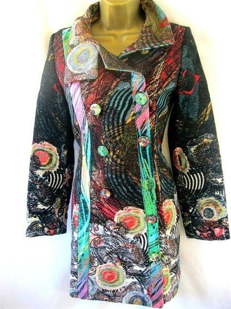 begrenzter Verkauf billigsten Verkauf attraktive Mode Desigual Abrig Natalia Tapestry Effect Bright Fitted Dress ...