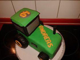 Trecker Torte Traktor Traktor Torte Torten Traktor Geburtstagskuchen