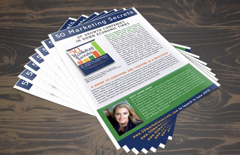 Free Photoshop template of book sell sheet flyer идея - sample sell sheet