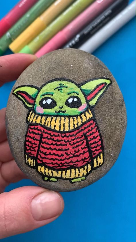 A jedi shall not know anger. Nor hatred. Nor love. A jedi master knows neither fear nor cold! As painted sweater warm one will.
