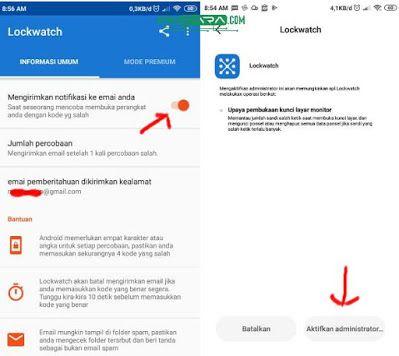Trik Melihat Orang Yang Mencoba Membuka Kunci Hp Anda Cara Melihat Orang Yang Mencoba Membuka Kunci Ponsel Anda Android Inter Persandian Ikon Aplikasi Ponsel